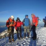 Auf dem Mont Blanc 2010